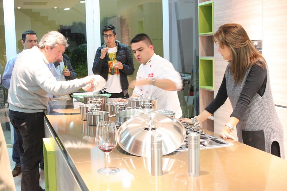 Clases De Cocina | Evento Clases De Cocina Tienda Fissler Medellin Regal De Colombia